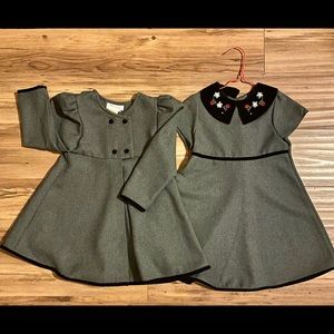Adorable Dress with Matching Overcoat